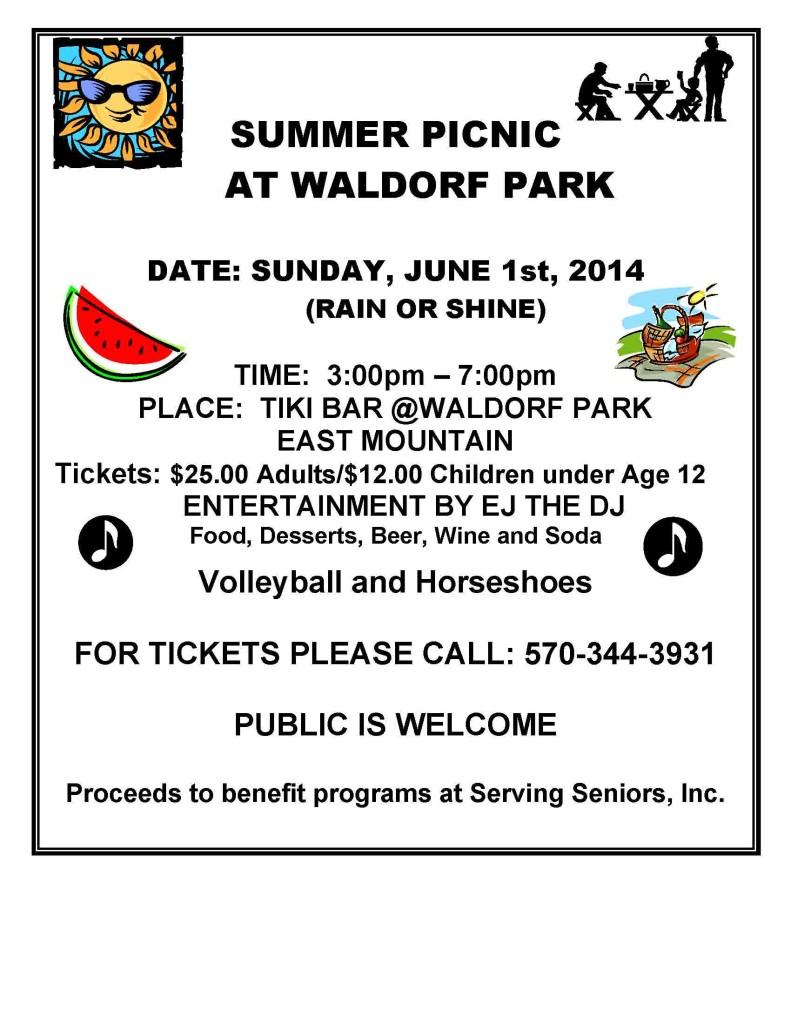 AAA PICNIC_WALDORF Park 2014