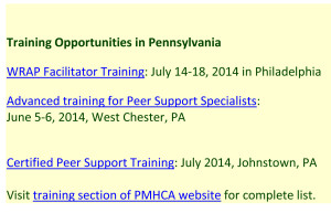 Training Opportunities in Pennsylvania