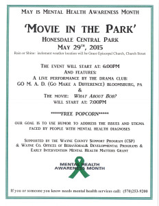 Move in the Park flyer